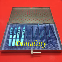 1set Titanium Ophthalmic Equipment Surgical Instrument with case