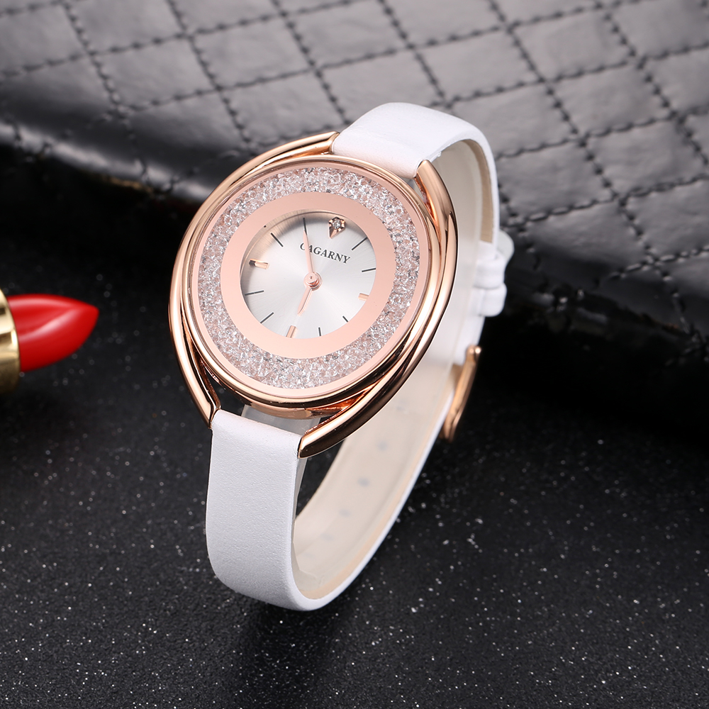 cagarny 2018 Fashion Women Watch Luxury Brand Women Casual Wrist Watch Ladies Quartz Watch Relogio Feminino bayan kol saati wholesale drop shipping (11)