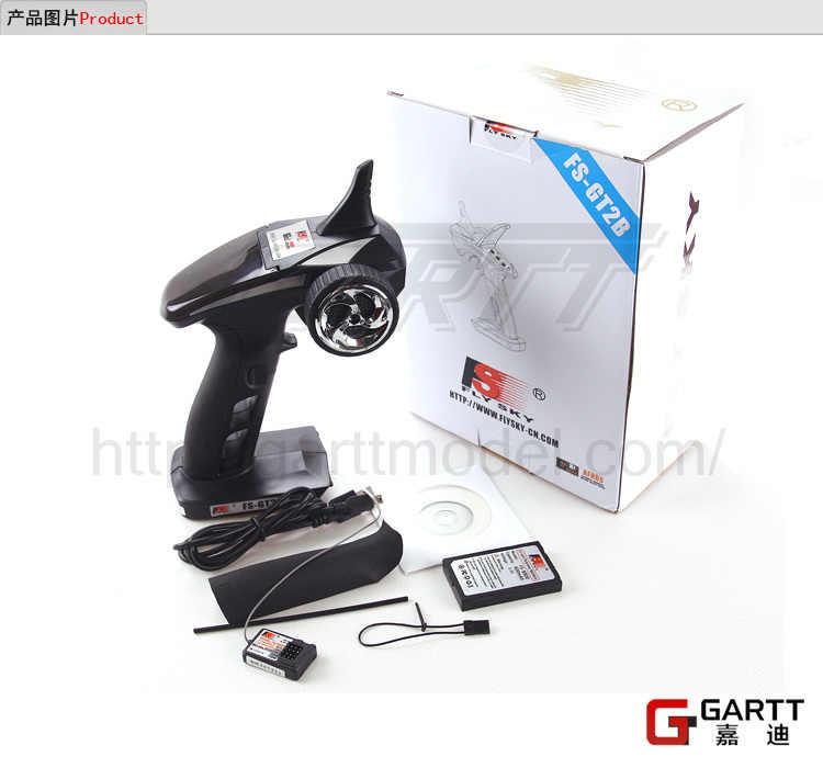 Бесплатная доставка Flysky FS GT2B FS-GT2B 2,4G 3CH пистолет контроллер передатчик приемник аккумулятор TX USB кабель для RC автомобиля лодки