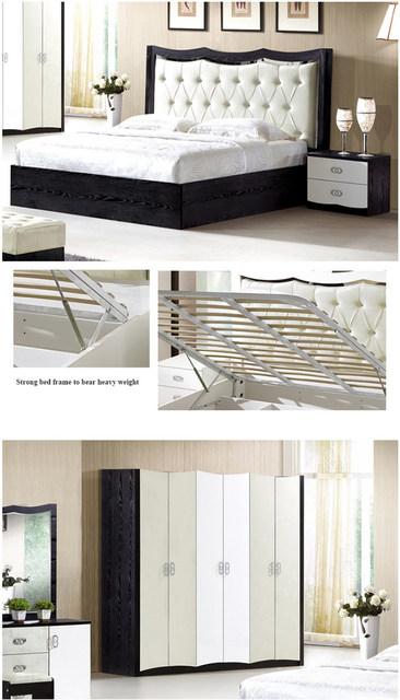 Tienda Online Nuevo diseño de lujo muebles camas queen dormitorio ...