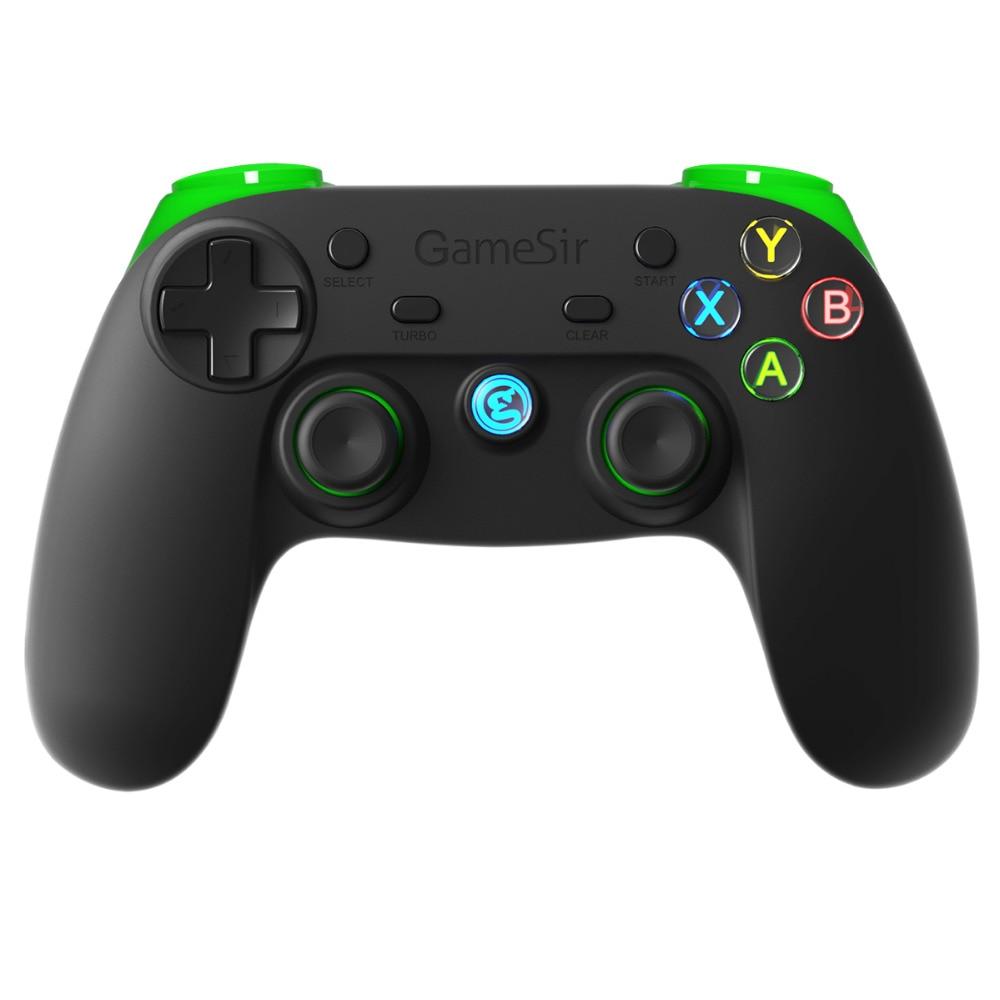 GameSir G3s Sans Fil Bluetooth Contrôleur Contrôleur de Téléphone pour iOS iPhone Android Téléphone TV BOX Android Tablet PC Vitesse VR (vert)