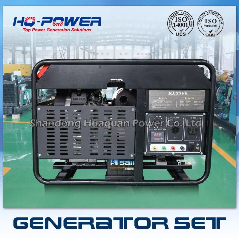 Бензиновый генератор 15