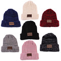 Women's Fashion Knitted Wool Hat Beanie Autumn Spring Winter Multi Colors casual Cap 2016 Hair Accessory Hot NXH2085