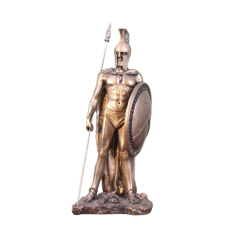 Médiévale européenne étain samouraï guerrier sculpture poupée cavalerie soldat chevaliers soldat étain résine statue décoration de la maison artisanat