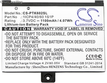 Аккумулятор Cameron Sino 1100 мАч для Pocketbook Pro 602, Pro 603, Pro 612, Pro 902, Pro 903, Pro 912, Pro 920, Pro 920.W