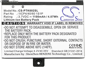 Image 1 - Cameron Sino 1100mAh Batteria per il Libro Tascabile Pro 602, Pro 603, Pro 612, Pro 902, pro 903, Pro 912, Pro 920, Pro 920.W