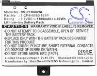 Cameron Sino 1100mAh Battery 1ICP4/40/60 1S1P for Pocketbook Pro 602/603/612/902/903/912/920/920.W