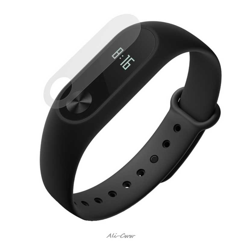 HD Film Anti-Scratch Screen Protector For Xiaomi Miband 2 Smart Strap Wristband