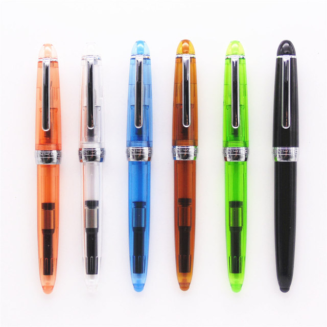 Jinhao 992 All Colour Spiral Round Interface Types Office Student