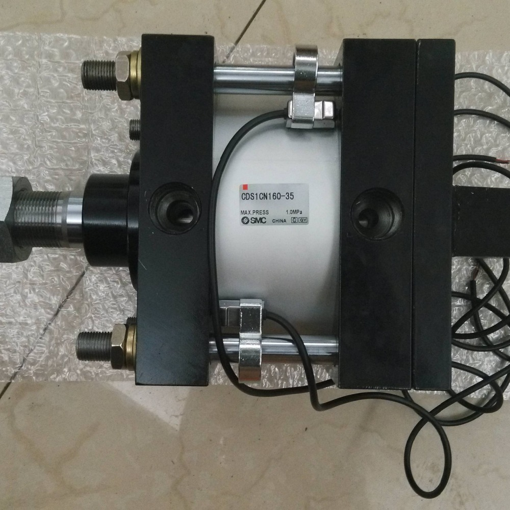SMC CDS1CN160-35 air cylinder pneumatic air tools SMC series smc cdrq2bw20 180 air cylinder pneumatic air tools smc series
