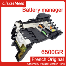 LittleMoon Brand New Genuine Battery manager battery fuse box 6500GR For Peugeot 3008 RCZ 1.6T Citroen C4 Grand Picasso
