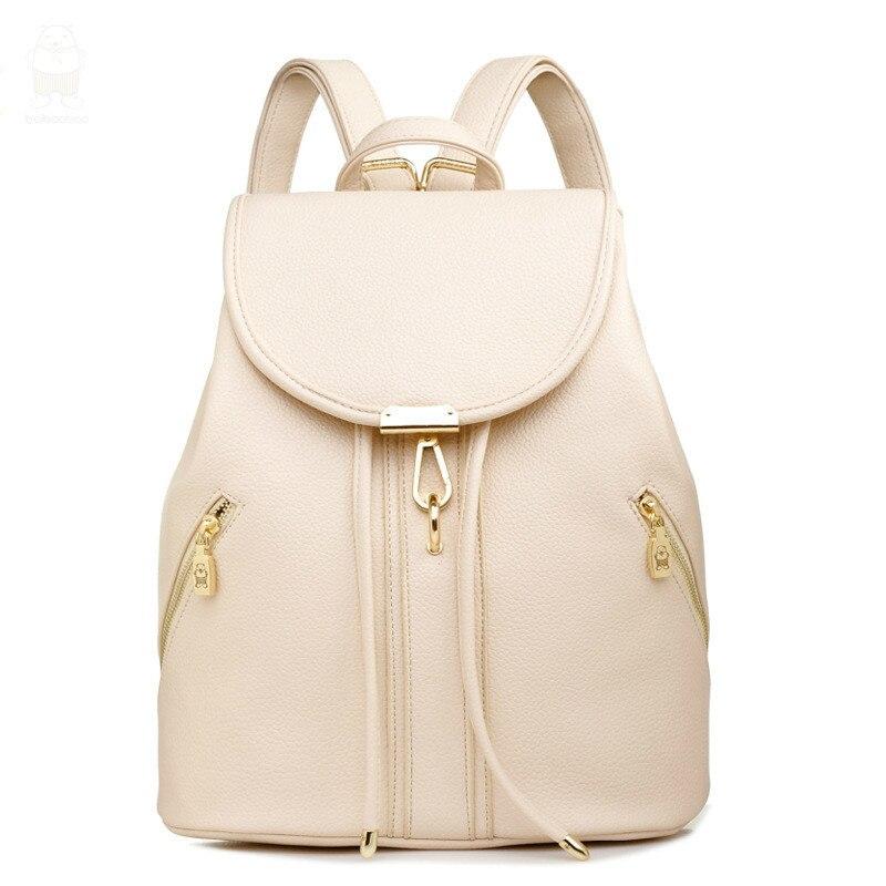 Ladies Printing Student School Bag For Teenage Girls Fashion Pu Leather Women Backpacks Mochila Feminina XB1605