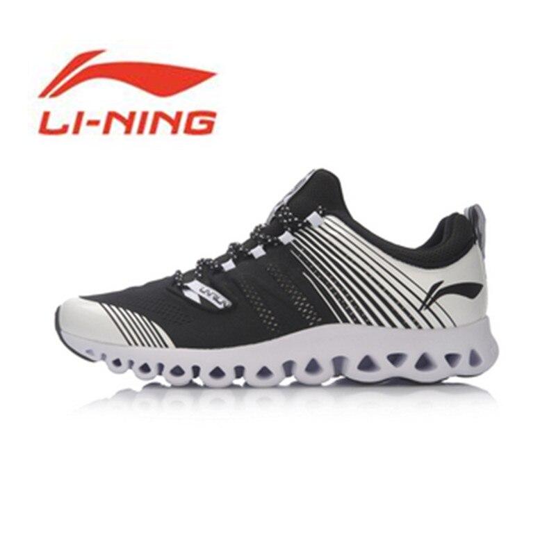 Chaussures Li Ning nouveautés série Arc classique chaussures de course hommes coussin respirant Design chaussures de sport baskets ARHM009