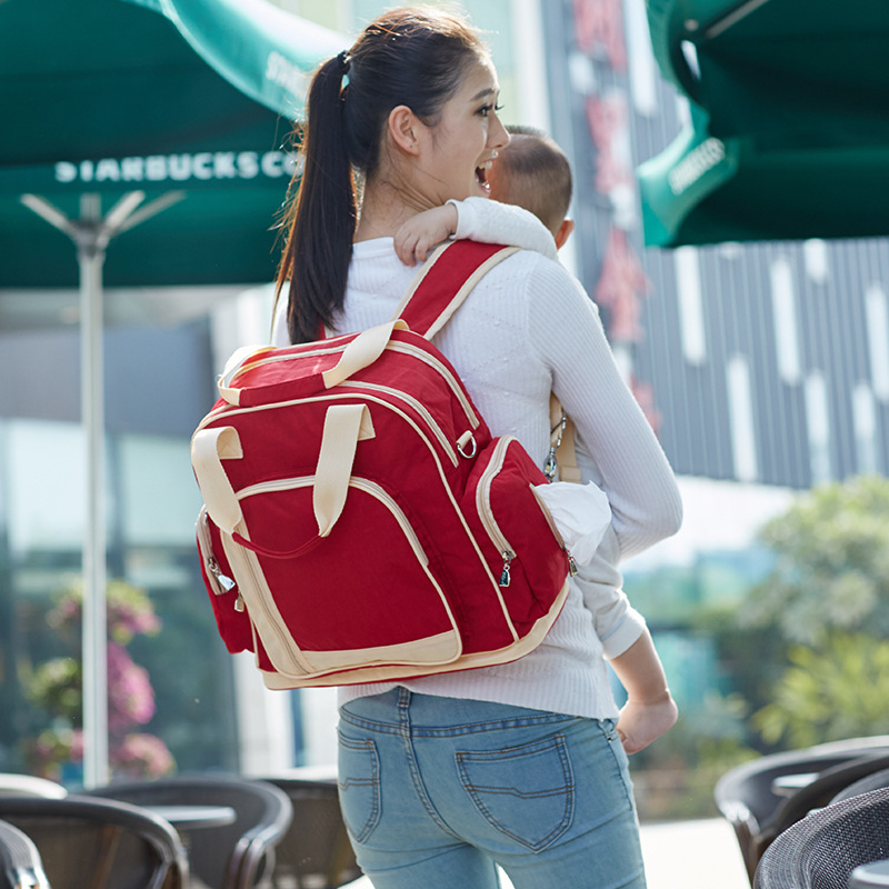 8 Colors Mummy Maternity Nappy Bag Brand Large Capacity Baby Bag Travel Backpack Designer Nursing Bag8 Colors Mummy Maternity Nappy Bag Brand Large Capacity Baby Bag Travel Backpack Designer Nursing Bag