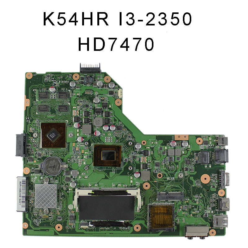 все цены на  For asus X54H X54HR X54HY Laptop motherboard K54HR REV:3.0 mainboard processor I3-2350 graphic HD 7470 tested good!  онлайн