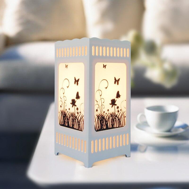Затемняющая лампа, короткая лампа для спальни, освещение для кровати, теплый ночник для детей, украшение для гостиной, настольная лампа