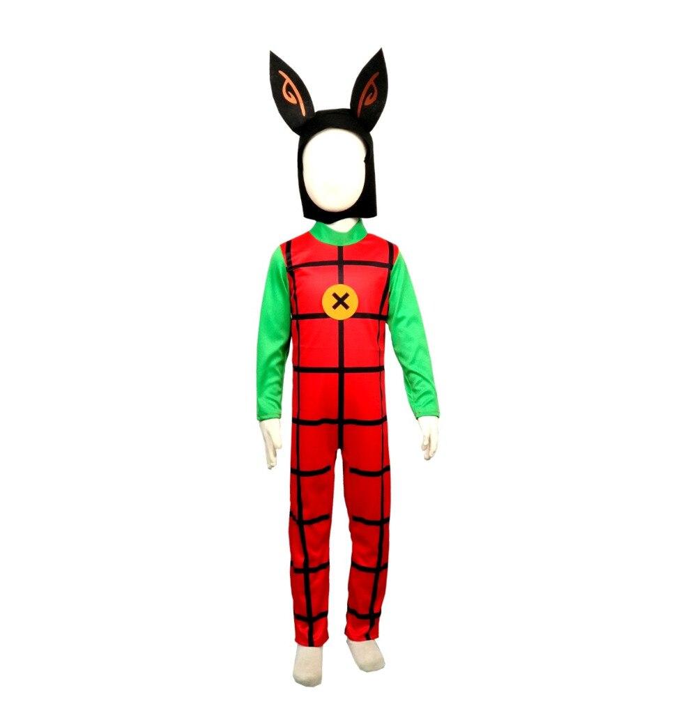 2019 NEW  Halloween Costume bing bunny fancy dress cos jumpsuit Costume Kids  dress up rabbit cute cosplay
