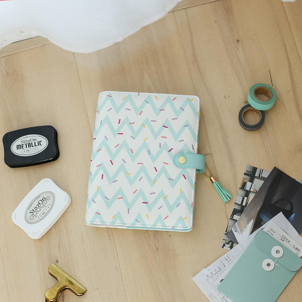 Image 4 - Lovedoki 2019 Cute Doughnut Planner Organizer Agenda A5 Spiral Notebooks Student Diary Sketch Book School Stationery Supplies-in Notebooks from Office & School Supplies