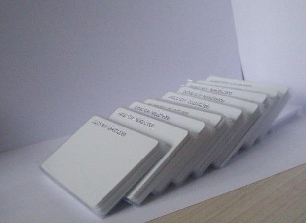 RFID ID card, RF proximity EM card with 125kHz,0.8mm thin card, +min:2000pcs 1pcs 125khz rfid proximity id card waterproof tk4100 em card wristbands silicone rfid bracelets