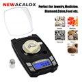 Цифровые электронные весы NEWACALOX 100 г/50 г x 0 001 г  мини USB весы для взвешивания  0 001 г  точные весы для ювелирных изделий  лабораторные весы