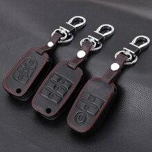 Echt leder key geval sleutel tas cover Voor Kia KX3 KX5 K3S RIO RIO 4 Ceed Cerato Optima K5 sportage Soul Sorento Auto Styling