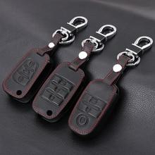 Чехол для ключей из натуральной кожи, чехол для ключей для Kia KX3 KX5 K3S RIO 4 Ceed Cerato Optima K5 Sportage Soul Sorento, Стайлинг автомобиля