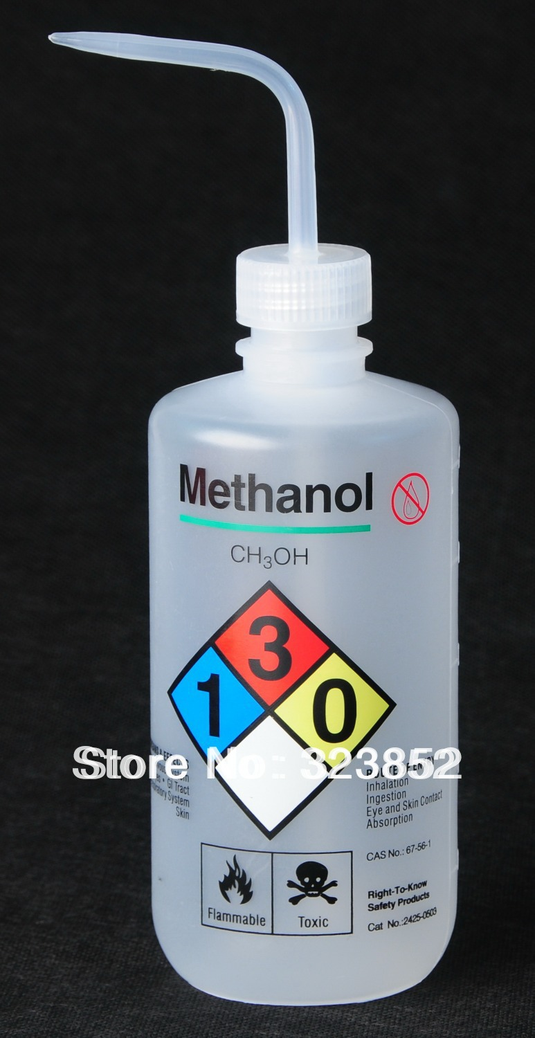 Ldpe Bottle Uses : Lab safety wash bottle label marked ldpe ml methanol