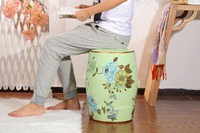 Decorative Living Room Ceramic Antique Garden Drum Stool