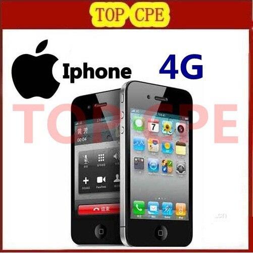 Original Apple iPhone 4 Factory Unlocked 16GB 32GB IOS 7 1 0GHz 3G WIFI GPS 5