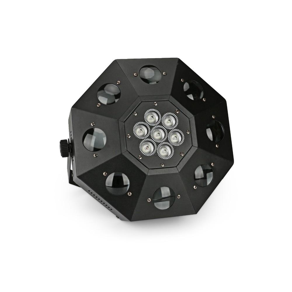 Livraison gratuite éclairage de Scène KTV bar lumières LED piste de danse lampe huit faisceau faisceau lampe RGBW Tête Mobile Éclairage de Scène DJ DMX
