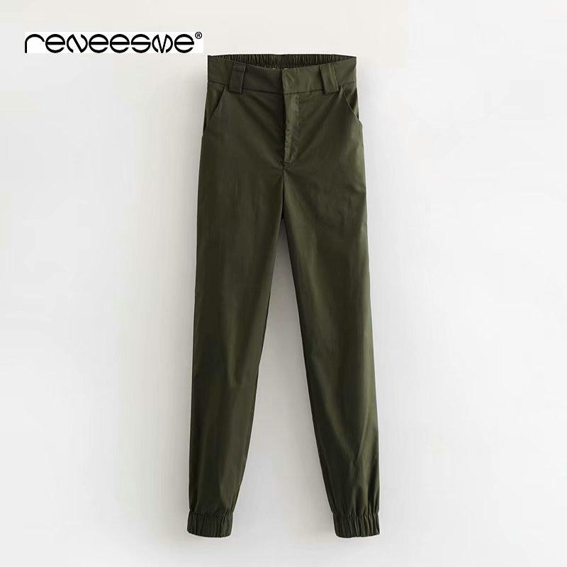 women streetwear high waist   pants   loose joggers punk black cargo   pants     capris   trousers female casual Korean style ladies   pants