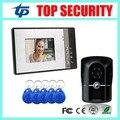 Новое поступление хорошее качество 7 inch умный дом проводной video door phone дверной звонок ИК-камеры наружного блока с 125 КГЦ СЧИТЫВАТЕЛЬ RFID карт