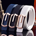 2017  Buckle narrow(width 3cm) leather(PU) Belt for Unisex youth 110cm(length)