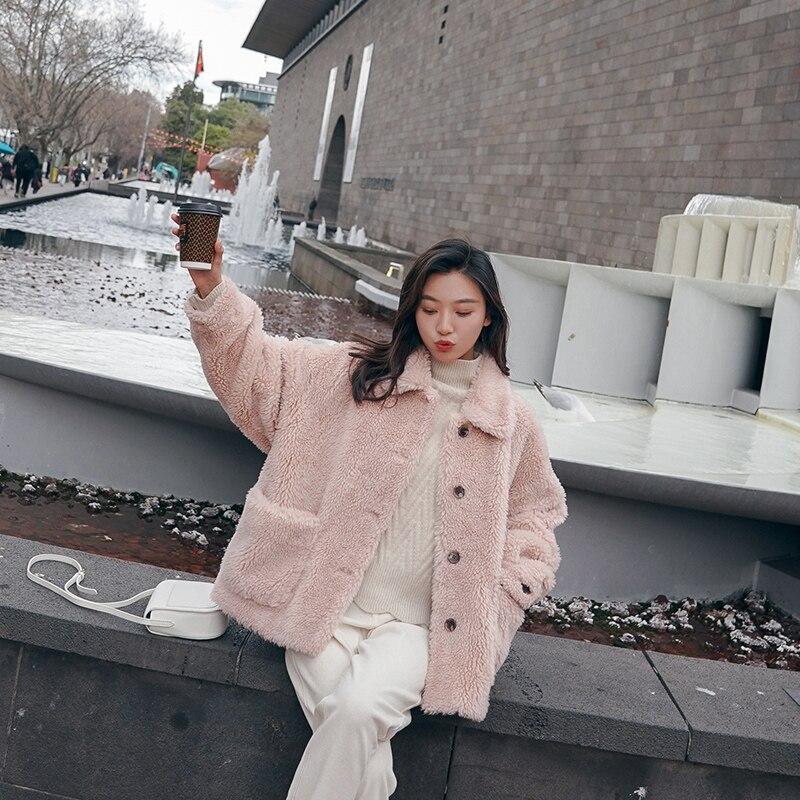 Abrigo rosa palo 2019