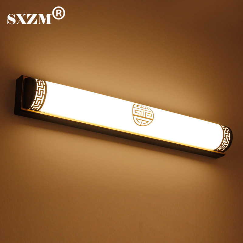 SXZM 48CM 20W LED mirror lamp AC85-265V Chinese Style Waterproof High Quality Metal mirr ...