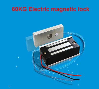MOUNTAINONE Reasonable price 60KG/132lb Electric Magnetic Lock Fail Secure DC 12V for Door Entry Access Control System in stock ...