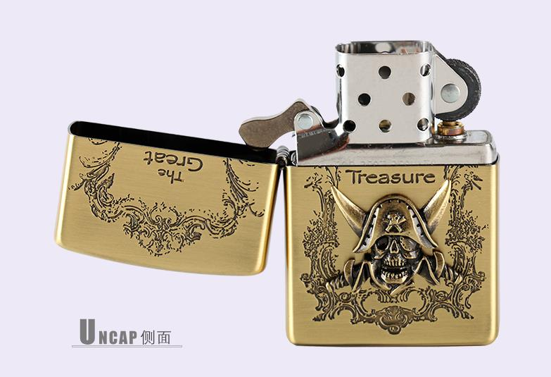 Free transportation 	Lighter gold pirates of the Caribbean - Household Merchandises - Photo 5
