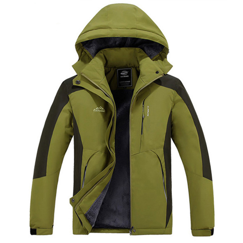 New women Men's Winter Jacket Men Hooded Wadded Thicken Winter down Coat Casual waterproof fleece Outwear Parka size M~5XL