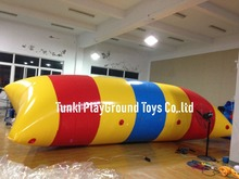 Top quality inflatable water catapult blob/water blob/water trampoline