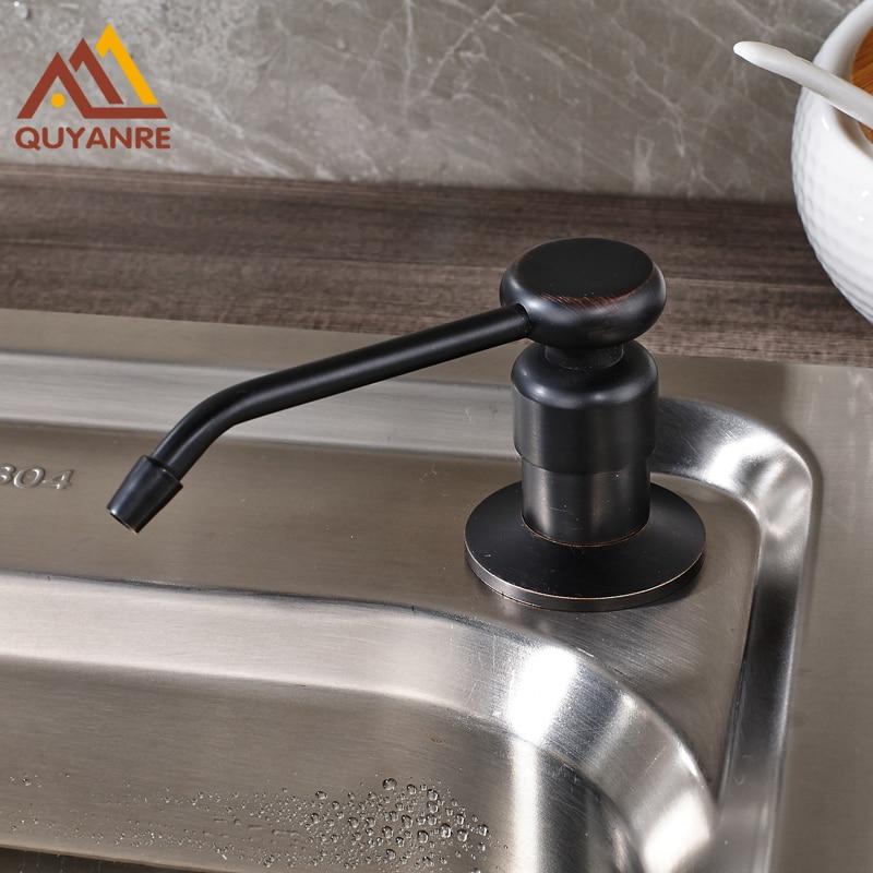 Seifenspender Küche | Grosshandel Und Einzelhandel Schwarz Kuche Waschbecken Seifenspender