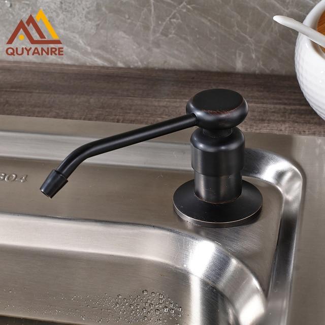 US $23.0  Großhandel und Einzelhandel Schwarz Küche Waschbecken  Seifenspender Küche Wasserhahn Zubehör Kostenloser Versand in Großhandel  und ...