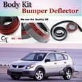 Bumper Lip Deflector Lips For Pontiac Vibe 2003~2010 Front Spoiler Skirt For TopGear Friends Car View Tuning / Body Kit / Strip