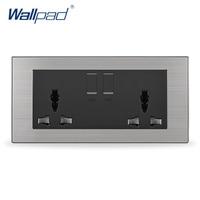 2015 Hot Sale China Manufacturer Wallpad Push Button Random Click Luxury Wall Light Switch UK 146