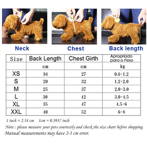 Image 5 - Dog Hoodies Autumn and winter warm sweater For Dogs Coat Jackets Cotton  Puppy Pet Overalls For Dogs clothes Costume Cat clothes