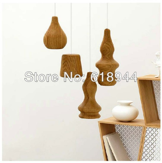 2014 new innovative items designer modern wood pendant lights luminaire lamps for home dining room - Dining Room Items