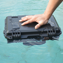 high quality Plastic alloy Waterproof Tool Box Sealed case Equipment Tool case Impact Resistant Shockproof with pre-cut Foam 0 75 kg 353 196 108mm abs plastic sealed waterproof safety equipment case portable tool box dry box outdoor equipment