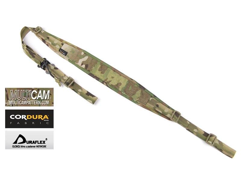 Genuine Multicam 2 Point Gun Sling Jacquard Strap Tactical Padded Rifle Slingster(SKU051325)