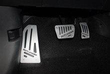 Pedal acelerador de gas del coche, reposapiés y pedal de freno para mitsubishi outlander 2013-2019, accesorios para el coche