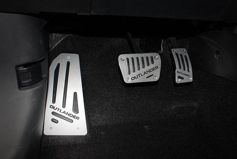 Pedale del gas auto pedale dell'acceleratore, auto poggiapiedi e pedale del freno per mitsubishi outlander 2013-2019, accessori auto