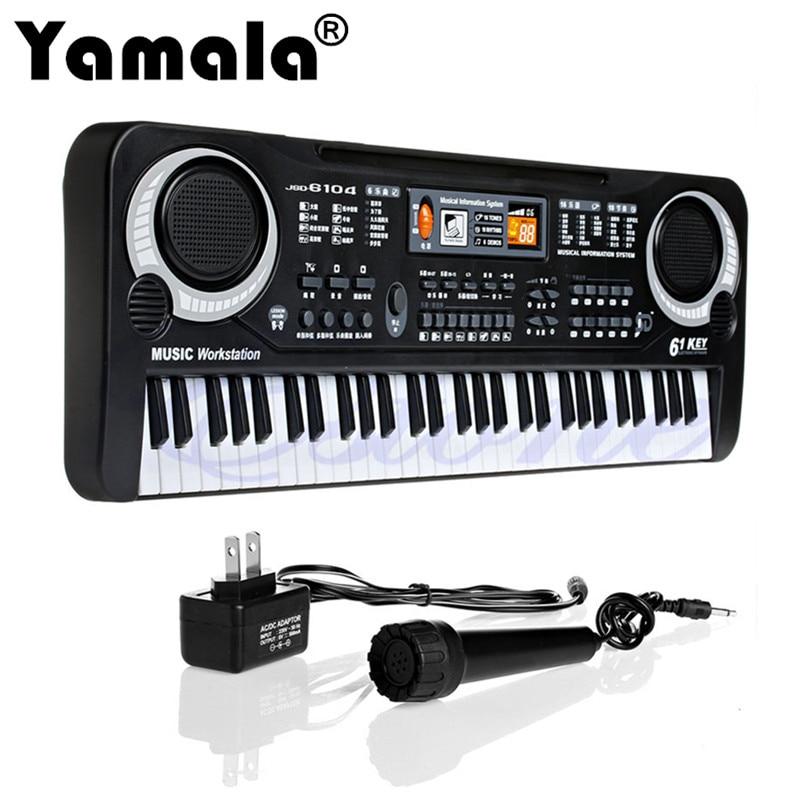 Yamala 61 Keys font b Digital b font Music Electronic Keyboard Key Board Gift Electric